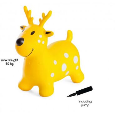 BS Toys Φουσκωτό Ζωάκι Reindeer Yellow GA274
