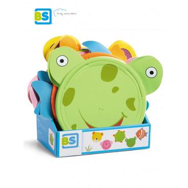 BS Toys Φρίσμπι Animal Disc Βατραχάκι GA175B