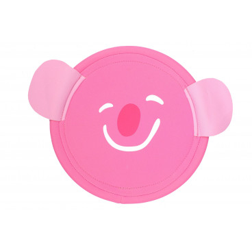 BS Toys Φρίσμπι Animal Disc Γουρουνάκι GA175G