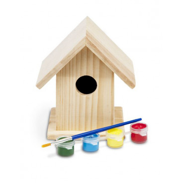 BS Toys Σπιτάκι Για Πουλιά Birdhouse 13cm GΑ039