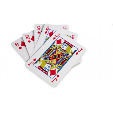 BS Toys Γιγάντια Τράπουλα Giant Card Game GA054