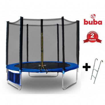 Buba Τραμπολίνο Με Δίχτυ Και Σκάλα 244 cm 021659
