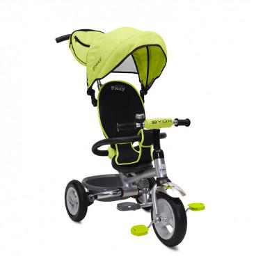 Byox Τρίκυκλο Ποδηλατάκι Flexy Plus Air Wheels Green 3800146240820