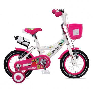 """Byox Παιδικό Ποδήλατο 12"""" Pink 1281"""
