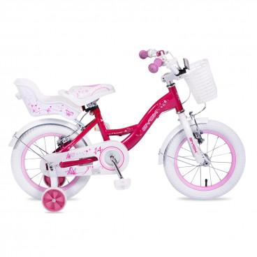 """Byox Παιδικό Ποδήλατο 14"""" Flower Pink 3800146200596"""