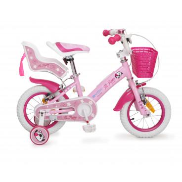"""Byox Παιδικό Ποδήλατο 12"""" Puppy Pink 3800146200459"""