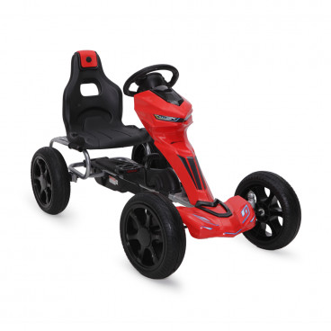 Byox Αυτοκίνητο Go Kart Hot With Soft Wheels Red 1502