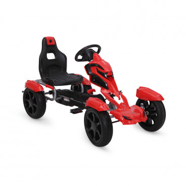 Byox Αυτοκίνητο Go Kart With Eva Wheels Adrenaline Red 1504