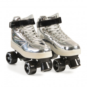 Byox Πατίνια Rollers Skates Silver L (37-38) 380014625508
