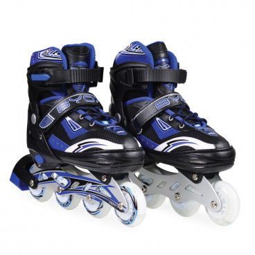 Byox Πατίνια Rollers Inline Skates Sparkle Blue L (38-41) 3800146254315