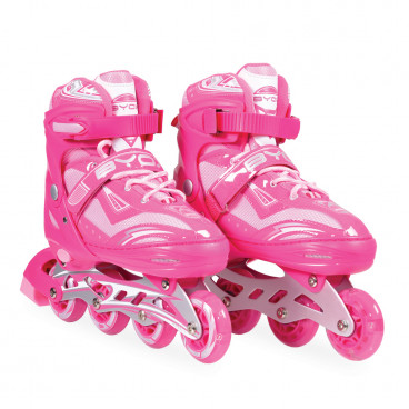 Byox Πατίνια Rollers Inline Skates Sparkle Pink L (38-41) 3800146254292