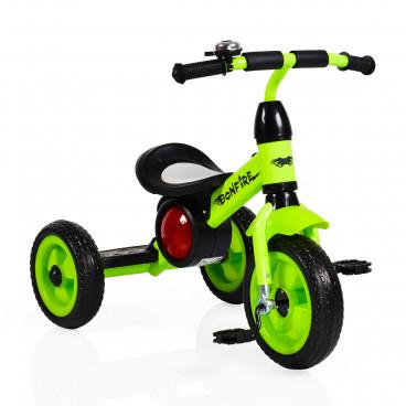 Byox Τρίκυκλο Ποδηλατάκι Bonfire BW-158 Green 3800146241902