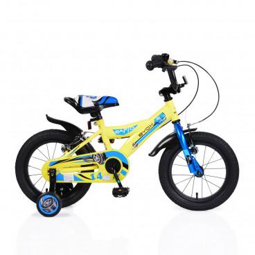 "Byox Παιδικό Ποδήλατο 14"" Rapid Yellow 3800146200602"
