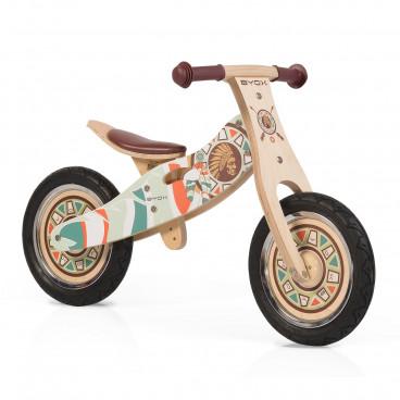 Byox Ποδήλατο Εκμάθησης Ισορροπίας Ξύλινο Indiana 3800146255688