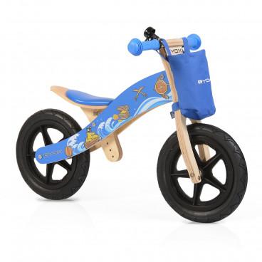 Byox Ποδήλατο Εκμάθησης Ισορροπίας Ξύλινο Woody Blue 3800146255718