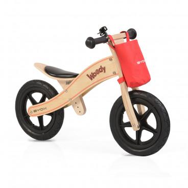 Byox Ποδήλατο Εκμάθησης Ισορροπίας Ξύλινο Woody Natural 3800146255695