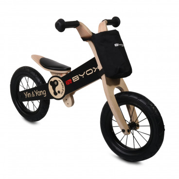 Byox Ποδήλατο Εκμάθησης Ισορροπίας Ξύλινο Yin And Yang 3800146225339