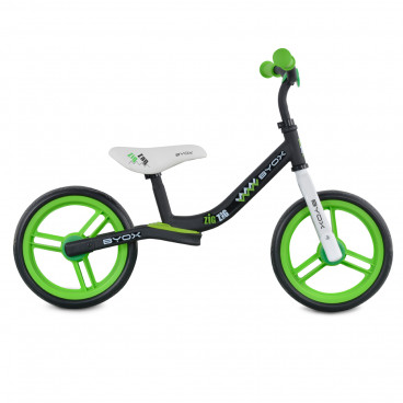 Byox Ποδήλατο Εκμάθησης Ισορροπίας Zig Zag Green 3800146225087