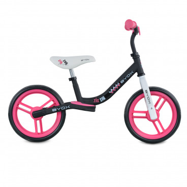 Byox Ποδήλατο Εκμάθησης Ισορροπίας Zig Zag Pink 3800146225070