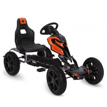 Byox Αυτοκίνητο Go Kart With Eva Wheels Adrenaline Black 1504