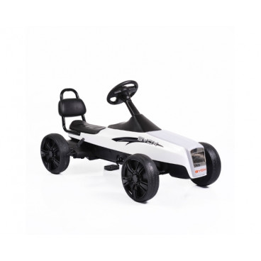 Byox Αυτοκίνητο Go Kart Happy Baby White K01