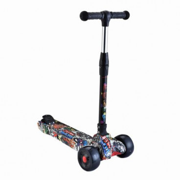 Byox Scooter Punky Black 3800146225377