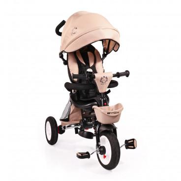 Byox Τρίκυκλο Ποδηλατάκι Flexy Lux Beige 3800146242725