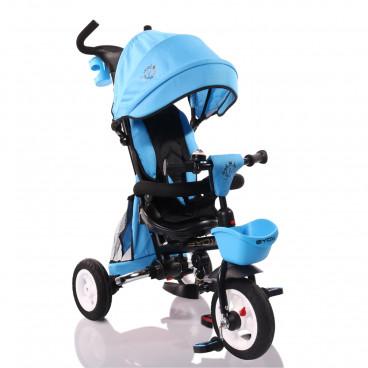 Byox Τρίκυκλο Ποδηλατάκι Flexy Lux Blue 3800146242756