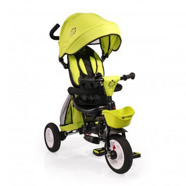 Byox Τρίκυκλο Ποδηλατάκι Flexy Lux Green 3800146242732