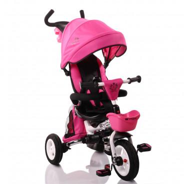 1611e5d1c9d Byox Τρίκυκλο Ποδηλατάκι Flexy Lux Pink 3800146242749