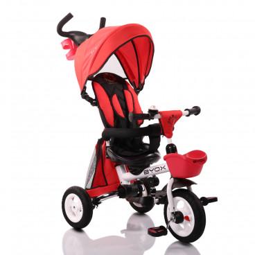 a3859f2117c Byox Τρίκυκλο Ποδηλατάκι Flexy Lux Red 3800146242763