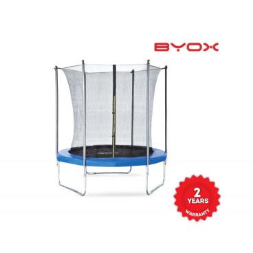 Byox Τραμπολίνο Με Εσωτερικό Δίχτυ Και Σκάλα 183 cm 3800146225933