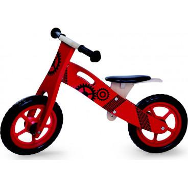 Byox Ποδήλατο Εκμάθησης Ισορροπίας Ξύλινο 5017 Red 3800146226350