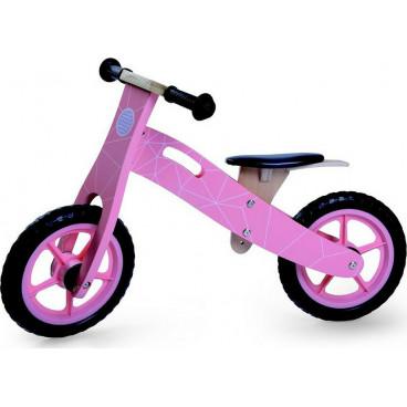 Byox Ποδήλατο Εκμάθησης Ισορροπίας Ξύλινο 5018 Pink 3800146226367