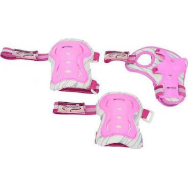 Byox Σετ Επιγονατίδα,Επιαγκωνίδα,Επικάρπιο S 0-25kg Pink 3800146225193