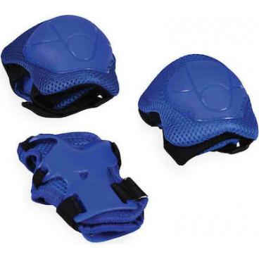 Byox Σετ Επιγονατίδα,Επιαγκωνίδα,Επικάρπιο S 0-25kg Blue 3800146255909