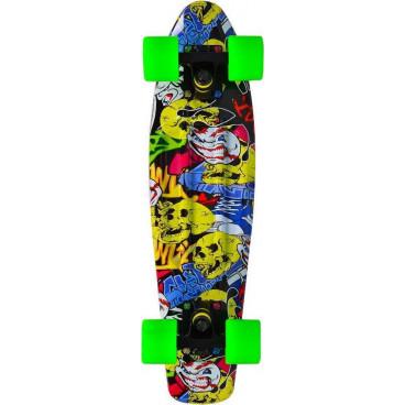 Byox Πατίνι Skateboard 22'' Graffiti Led  3800146226145