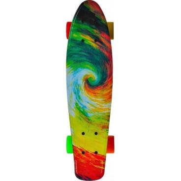 Byox Πατίνι Skateboard 22'' Comics Led  3800146226138