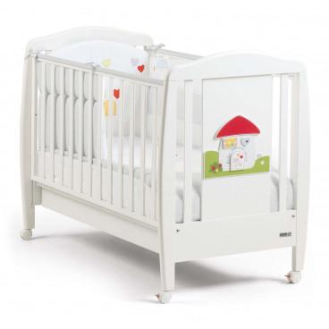 Cam Βρεφικό Κρεβάτι Bianco Casetta G152-C222
