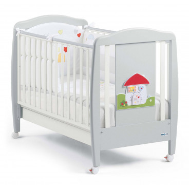 Cam Βρεφικό Κρεβάτι Grigio Casetta G150-C222