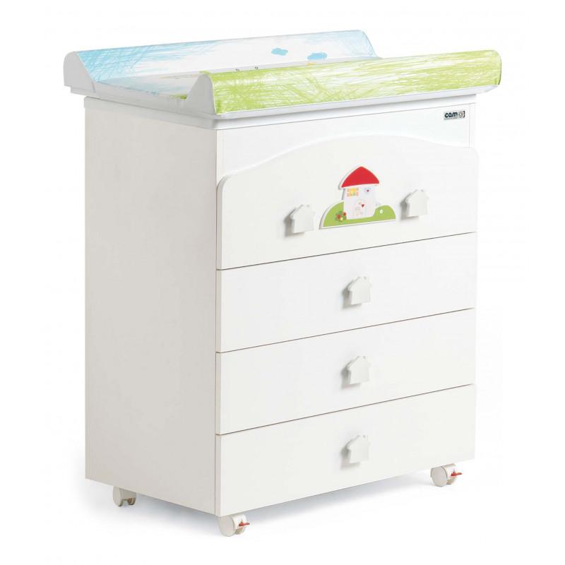 Cam Συρταριέρα Bianco Casetta G162-C222