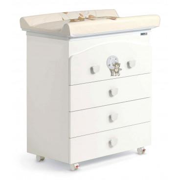 Cam Συρταριέρα Bianco Orso G112-C219