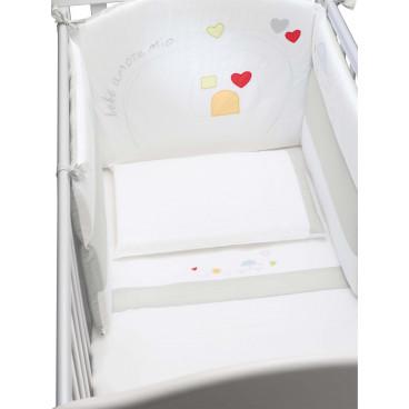 Cam Σετ Σεντόνια Κρεβατιού 3 Τμχ. Bianco Casetta G172-C222
