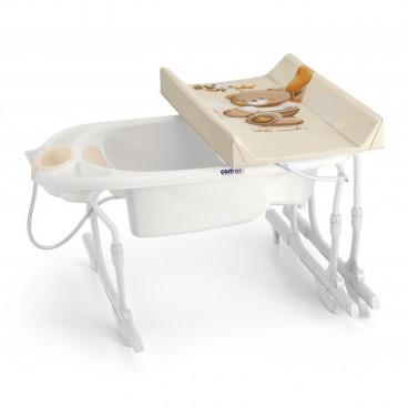 Cam Μπανιέρα Αλλαξιέρα Idro Baby Estraibile C518-240