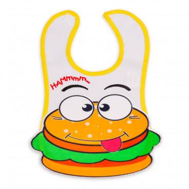Cangaroo Αδιάβροχη Σαλιάρα Hamburger 1906