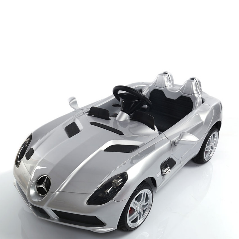 Moni Ηλεκτροκίνητο Αυτοκίνητο MercedesMclaren Sterling Moss DMD-158 Silver