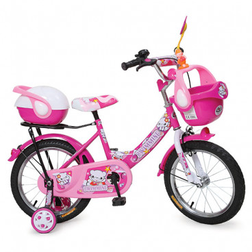 Moni Byox Παιδικό Ποδήλατο 1282 Pink