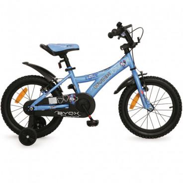 """Byox Παιδικό Ποδήλατο 16"""" Devil Blue 3800146201135"""