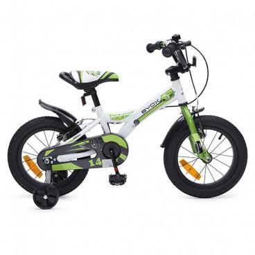 "Byox Παιδικό Ποδήλατο 14"" Rapid Green 3800146200602"