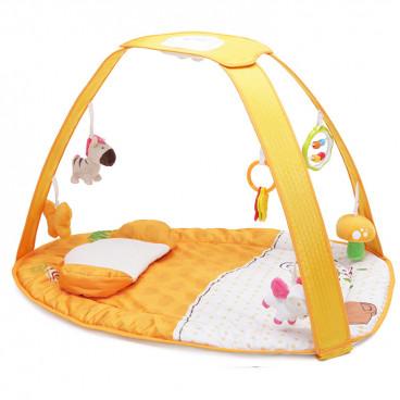 Cangaroo Γυμναστήριο Χαλάκι Δραστηριοτήτων Pastel Orange Sunset 3800146258504